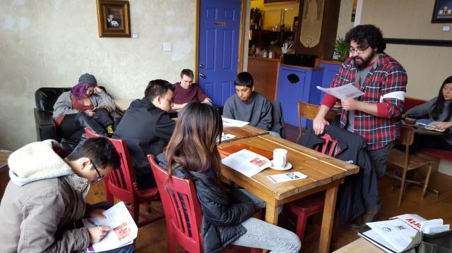 1st Chicago YPSL Meetup: group shot