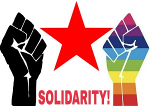 Popular-Leftist-LGBTQ solidarity